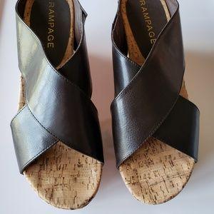 Rampage Platform Sandal